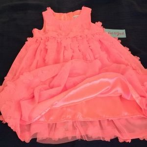 Toddler 3T coral summer dress